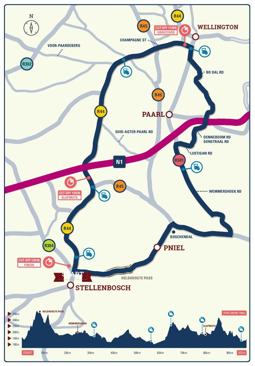 Stellenbosh Cycle Tour